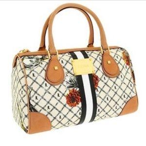 L.A.M.B. Signature Marigold Greenwood satchel bag